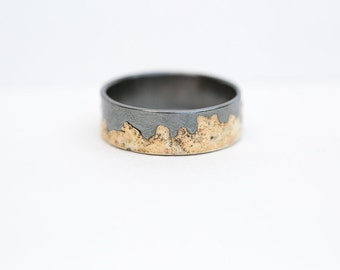 Fused Gold Band