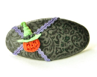 Halloween Barrette