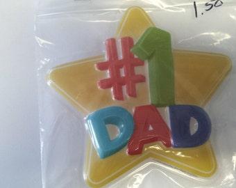 cake layon  1 Dad, cake topper,cake layon,cake decoration