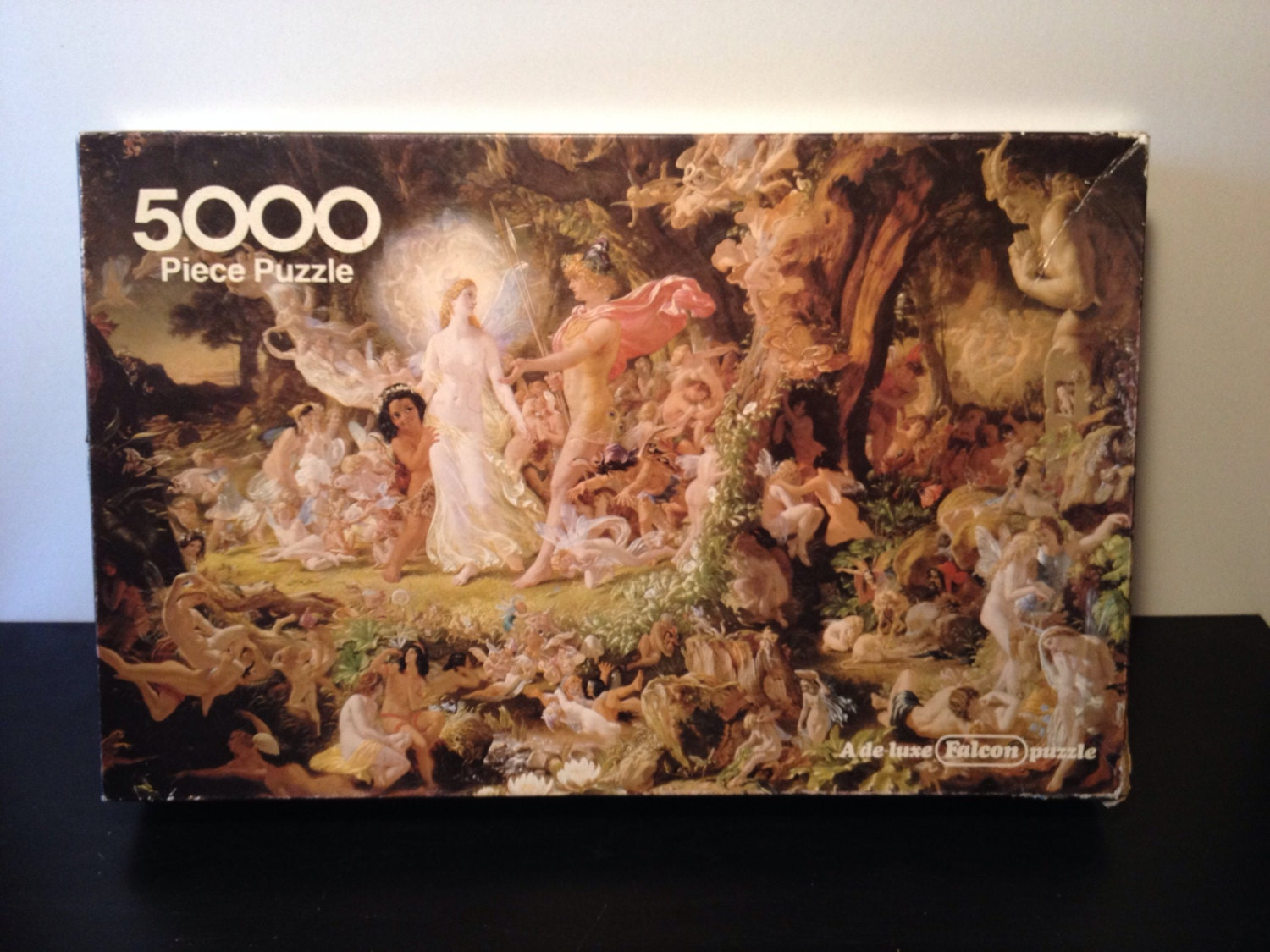falcon puzzle 5000 pieces 39 the quarrel of oberon by