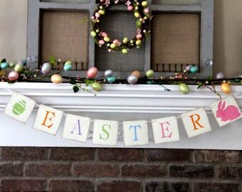 Easter Banner Easter Garland Spring Banner