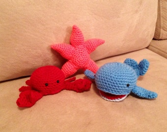 Plush Sea Creature Toys