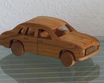 Wartburg  east german FSO poland wood car model car very rare handmade