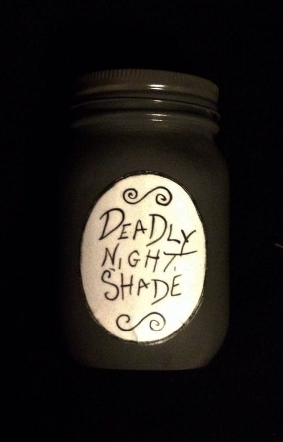 Items similar to The Nightmare Before Christmas Deadly Nightshade ...