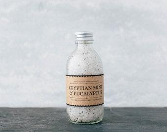 Dead Sea Bathing Salts - Egyptian Mint & Eucalyptus