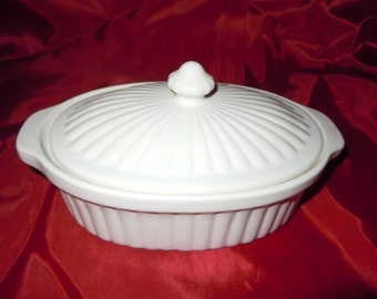 "Vintage ""Oven Proof"" Small Covered Casserole"