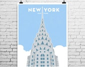 Chrysler Building, New York City, Art Print