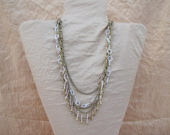 Unique Necklace For Women Statement Necklaces Multilayer Necklace Delicate Necklace Ethnic Necklace Exotic Necklace Boho Necklace