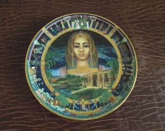 The Power of Ancient Egypt - Cleopatra by Sue Climpson Bradford Exhange Plate