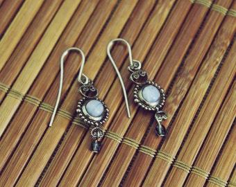 Vintage Stud Bead Earrings