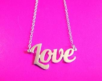 The PERFECT LOVE necklace. Your choice of sterling silver or gold plated. 25% of proceeds from item goes to the charity Race to Erase MS.