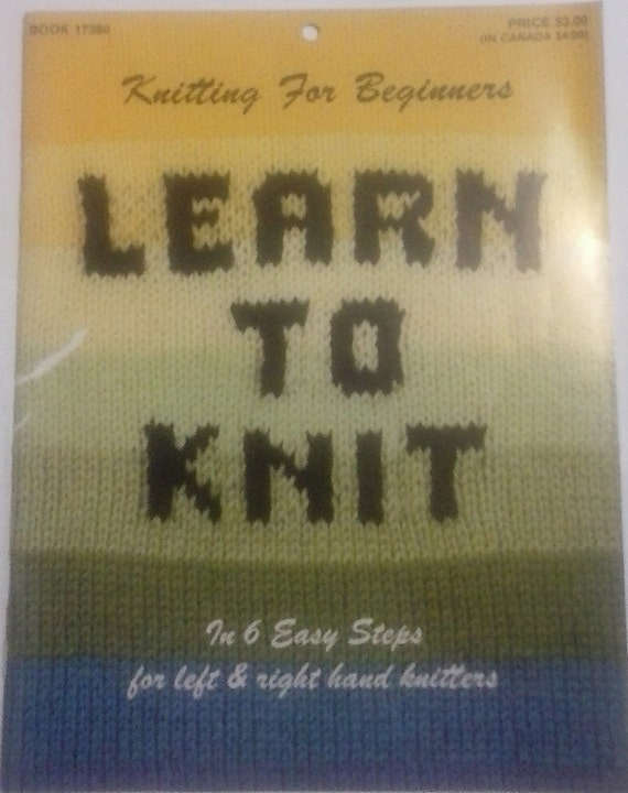 Knit Stitch For Left Handed Beginners : Learn to Knit Knitting for Beginners for left and right hand