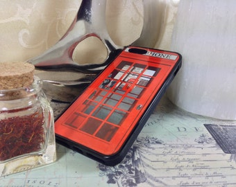 Red Phone Booth (R199) iPhone 5/5s/5c/4/4s/6s/6s plus.