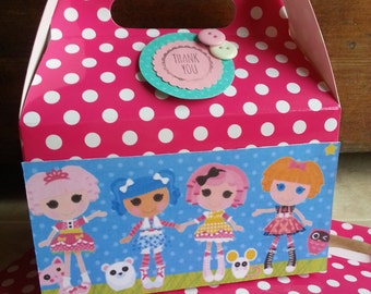 Lalaloopsy Party Paper Favor Boxes