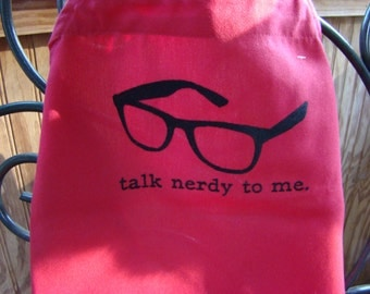 Talk Nerdy to Me Apron