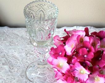 Glass Goblet Candleholder Vase Votive Candle Holder Mercury Glass Gold Wedding Home Decor
