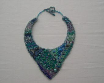 Crazy Quilt Necklace