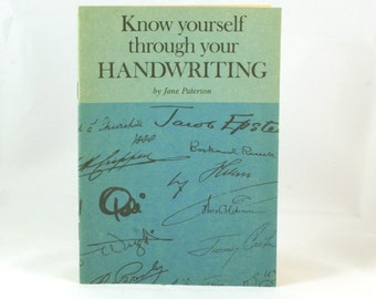 Know yourself through your handwriting 1980