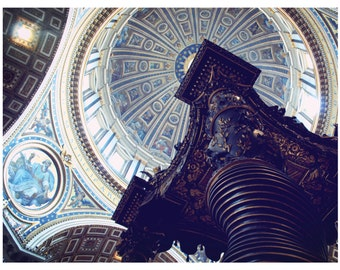 "Photo, ""Vatican Detail I"", 8x10, Rome, Italy, Rome Photograph, -R"