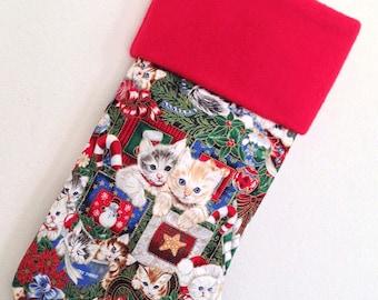 Kittens Christmas Stocking