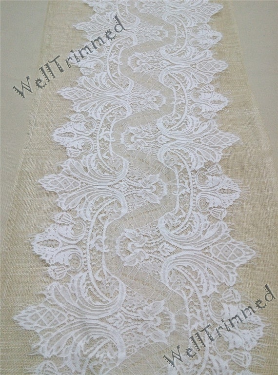 10 ft lace table runner 12 wide lace table runner for 10 foot table runner