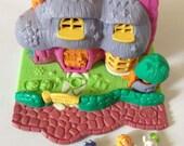 Items Similar To Vintage Polly Pocket 1994 Rabbit House