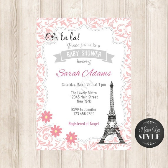 oh la la paris baby shower invitation printables invites 5x7 jpg
