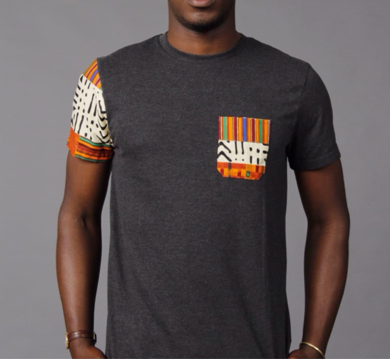 Sotribal ankara t shirt tee kente for Turkey mens designer shirts