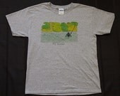 "Fly Town Comics Tee Shirt - ""Fly Fishing"""
