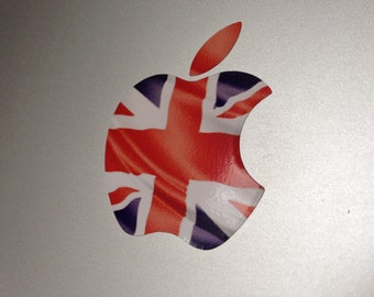 British Union Jack Flag MacBook Decal