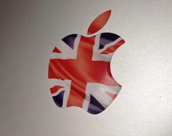 British Union Jack Flag MacBook Decal