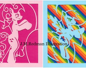 My Little Pony Friendship is Magic Paper Cut