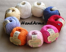 Organic cotton knitting crochet yarn GOTS certificate, EKO Sustainable Textile
