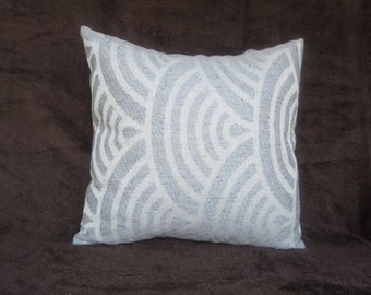 Pillow cover gray, 16x16,18x18, neutral pillow cover, design fabric throw pillow cover, any size  and ready to ship cushion cover