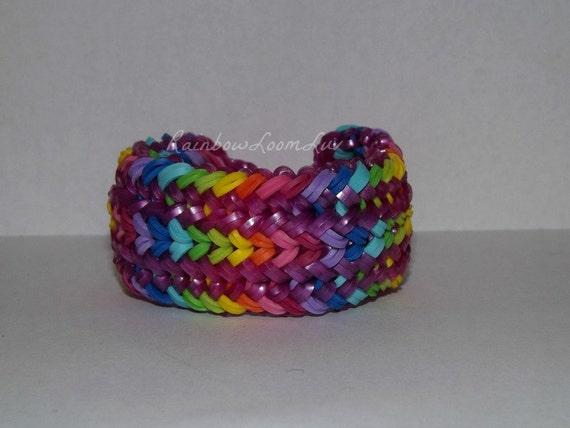 snake belly bracelet rainbow loom rainbow by rainbowloomgoons