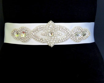 Bridal sash, wedding sash belt, bridal sash belt Princess