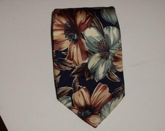 vintage Valeriano silk necktie