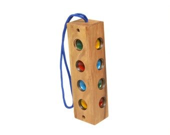 Traffic Lights Game, Wooden Game, Gift