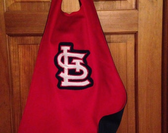 STL CARDINALS Kids Superhero Cape/Costume