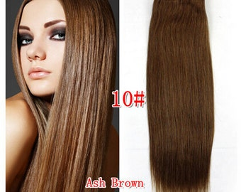 Human Hair Weft Extensions