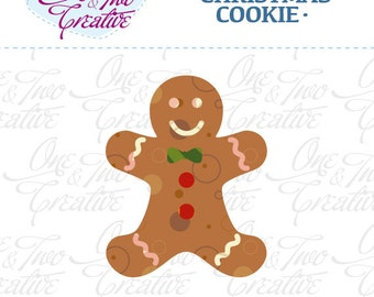 Christmas Cookie Fabric APPLIQUE TEMPLATE Only PDF - Instant Download - Permission to Sell Finished Items
