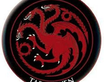 GAME OF THRONES patch  Targaryen 3 inches