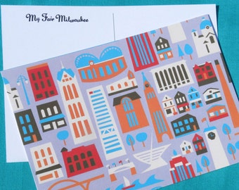 My Fair Milwaukee Postcards (10 postcards)