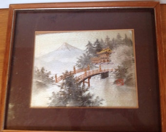 Vintage Japanese Silk Embroidery reserved