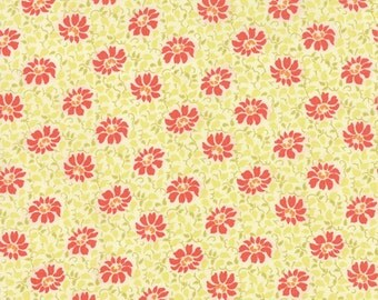 Somerset By Fig Tree Quilts For Moda Fabrics-- Creme Poppy 20232 27.