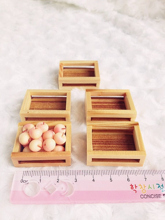 Miniature Wood Tray 1/2/5 pcs.,Wooden Tray Miniature,Dollhouse Tray,Miniature Tray,Food Tray,Vegetable Tray,Wooden Tray,DIY