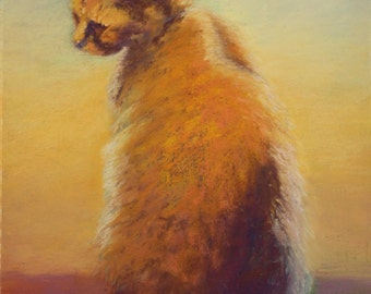Halloween Cat - Painting of Cat