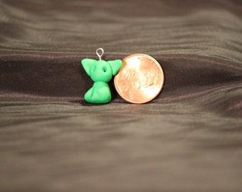 Green Cat Pendant