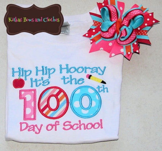 Items similar to hip hip hooray it 39 s the 100th day of for 100th day of school decoration ideas