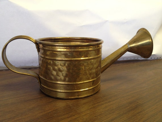 Adorable unique small brass watering can inv 5862 7d by - Unusual watering cans ...